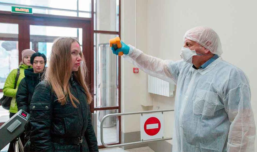 Профилактика коронавируса среди работников предприятии фото